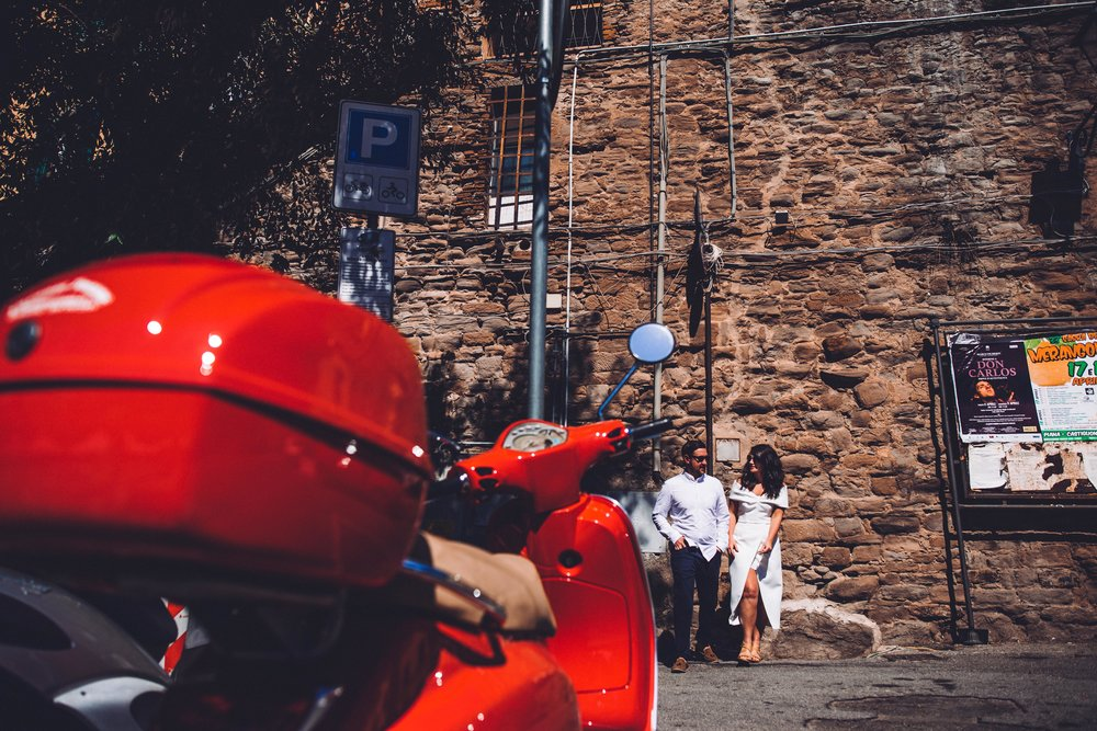 Love and a Vespa