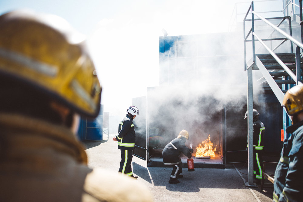 Fire Safety at Viking Recruitment