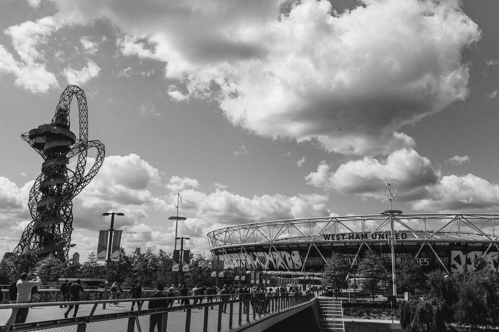 London Stadium, shot for FA Premier League social media