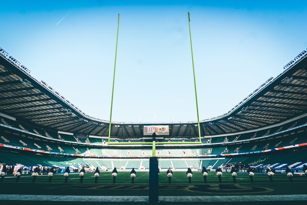 Twickenham, shot for NFLUK