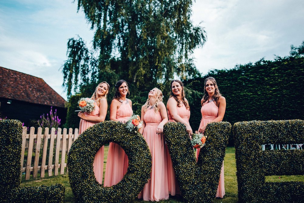 Bridesmaids n love