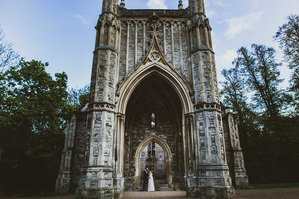 Nunshead cemetery wedding