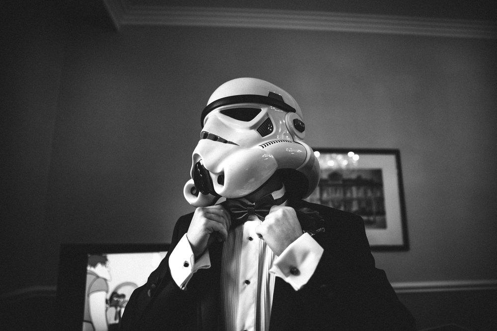 Stormtrooper groom