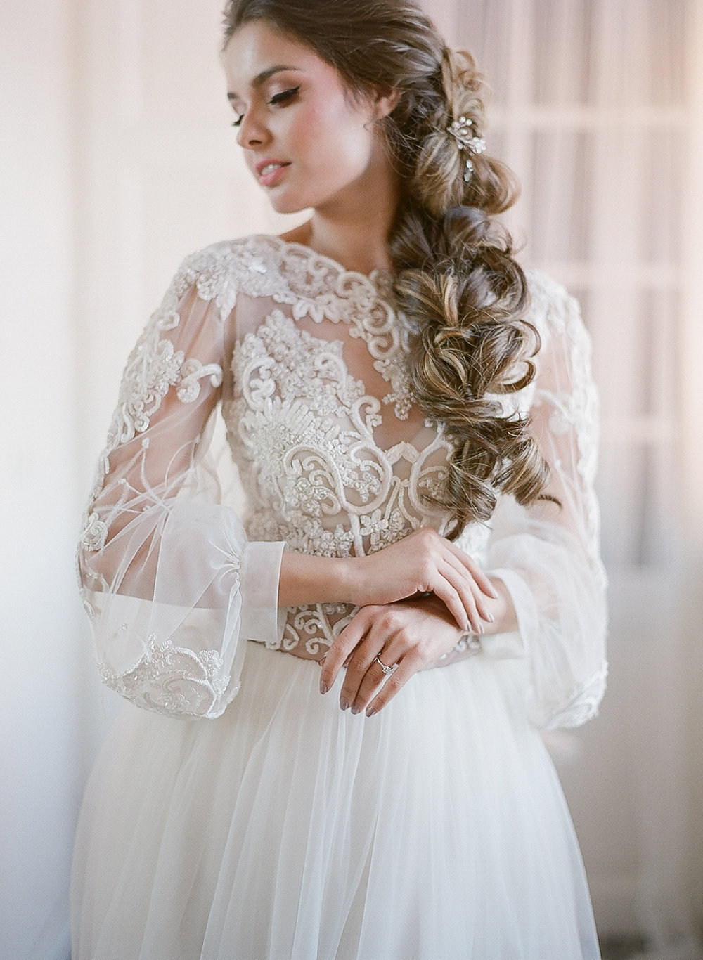 Fine art bridal look - Europe