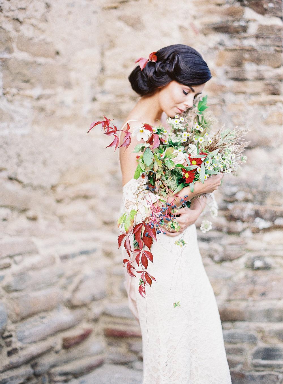 Organic wedding inspiration - Transylvania