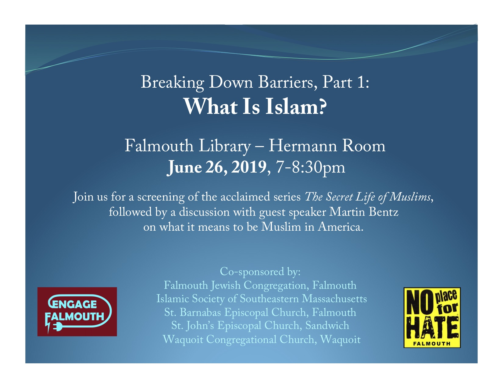 Breaking Down Barriers, Part 1: What Is Islam? — Engage Falmouth