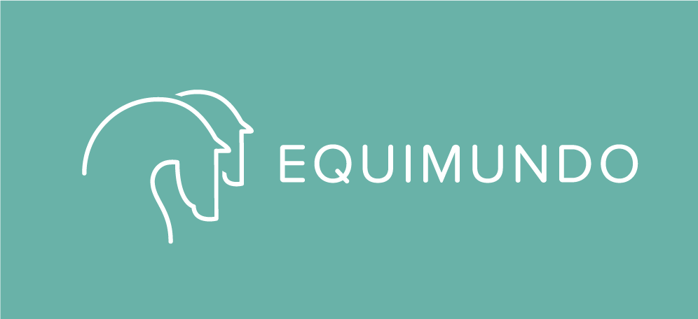 Logo for Equimundo, social network for horses