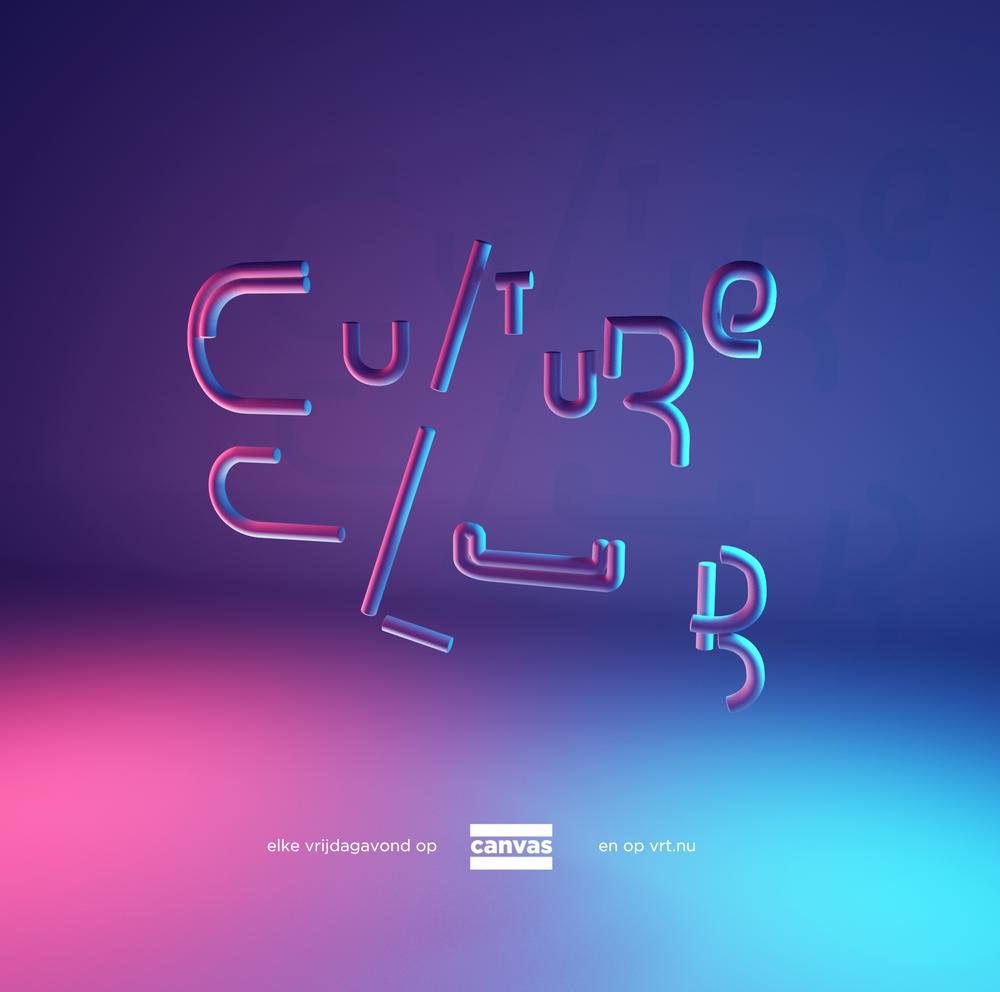 Visual geïnspireerd op het logo en decor van Culture Club
