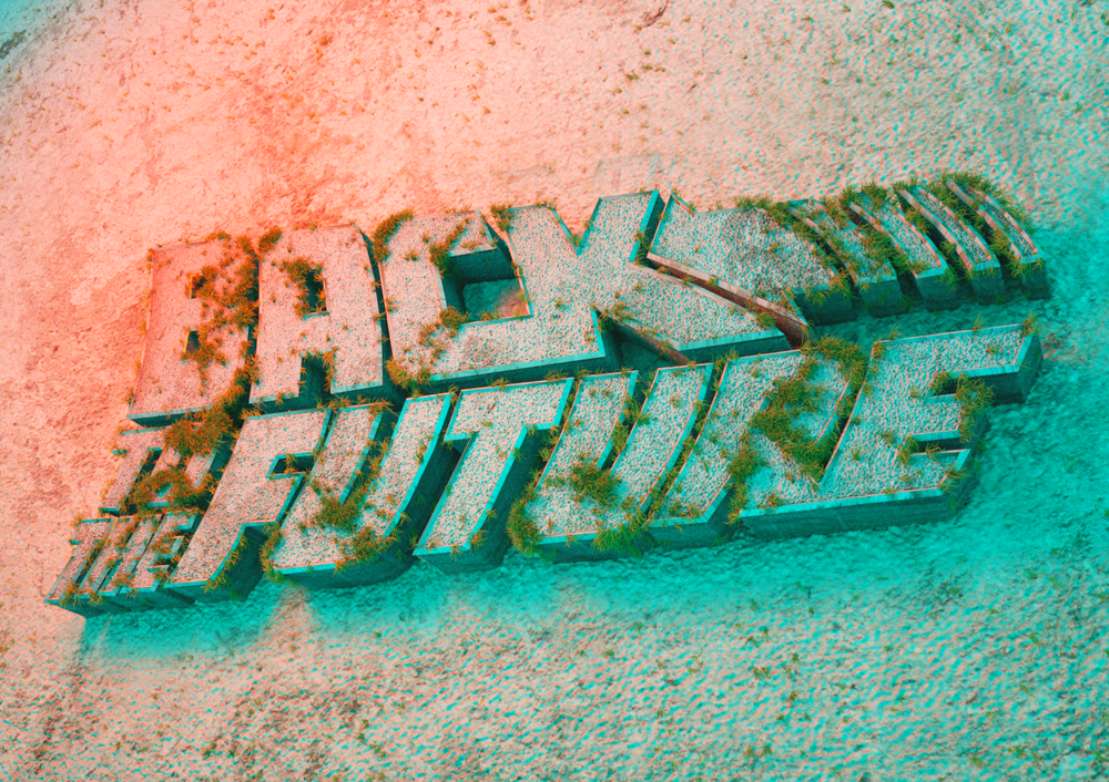 Back To The Future apocalyptic logo