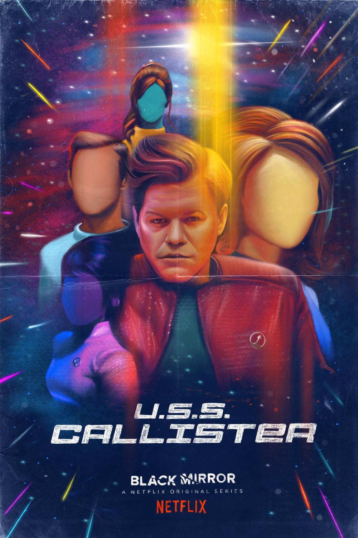 Black Mirror - USS Callister alternate poster (Netflix)