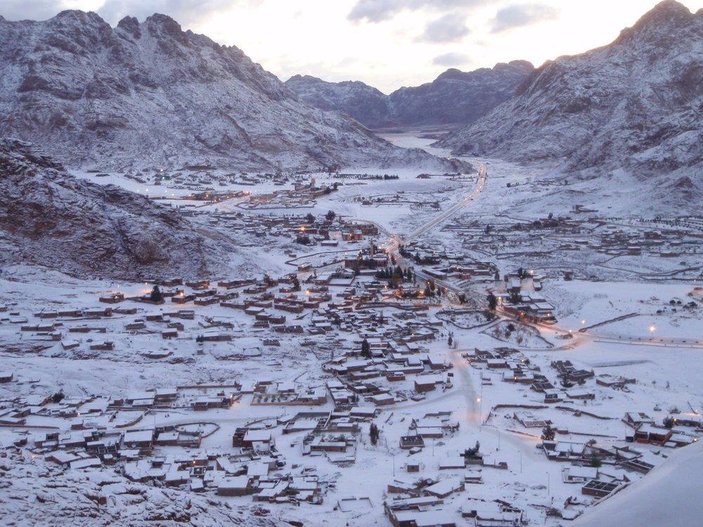St. Catherines Monastery, Mt. Sinai, Egypt. Courtesy of Wikicommons.