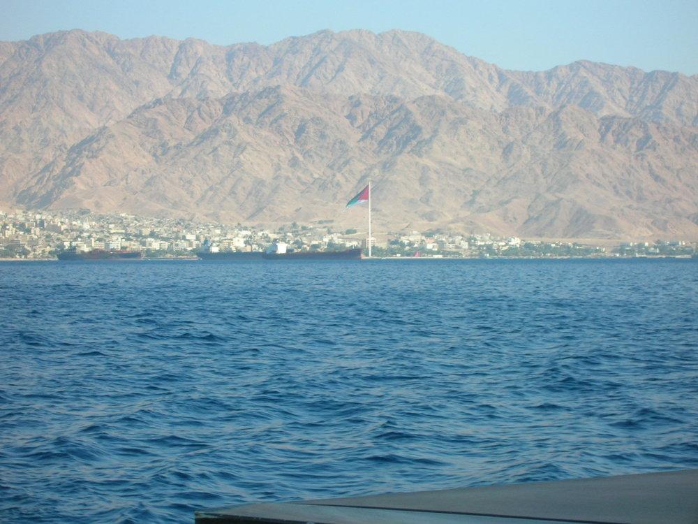 Aqaba, Jordan Wikicommons.