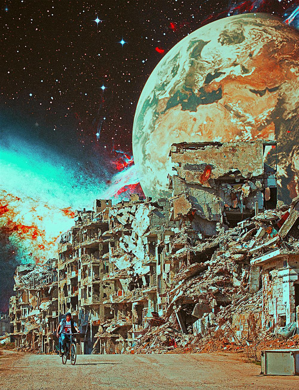 Internal Landscape/Syria Destruction