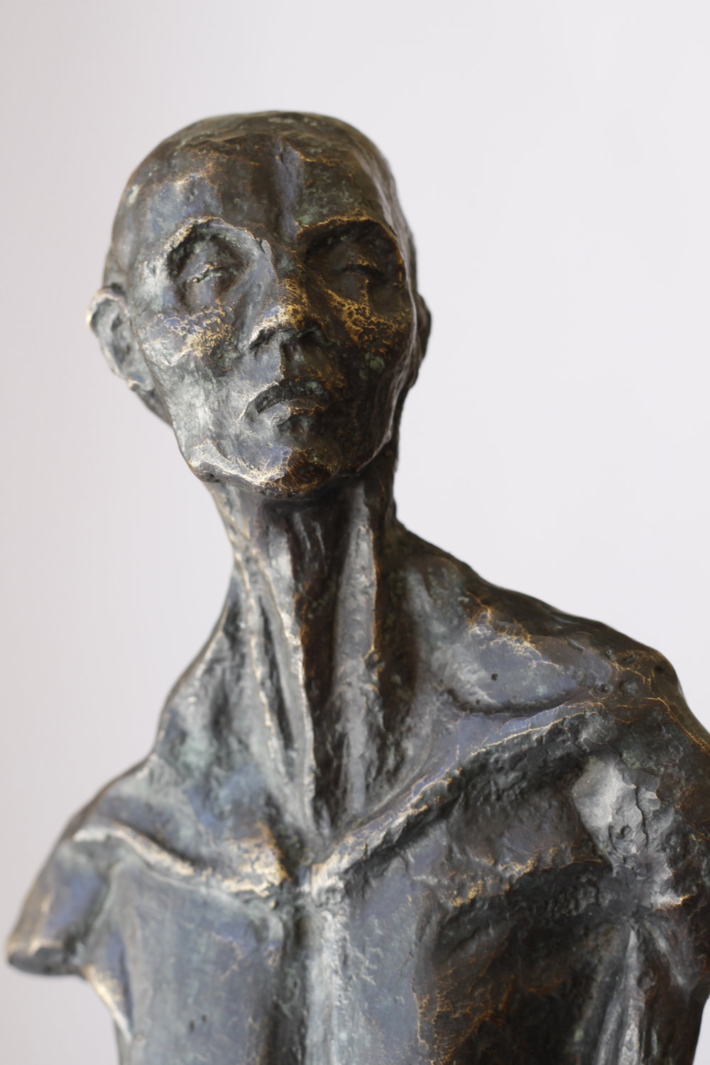 Untitled 2014,  50X20X15,  Bronze statue by Mwafak Maklad, a young Syrian artist. Photo courtesy of ARA.