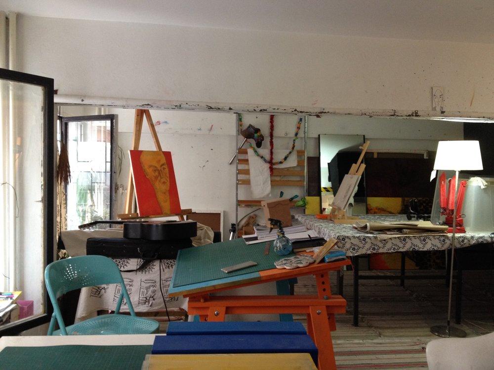 Arthere studio. Courtesy of Asli Altinisik