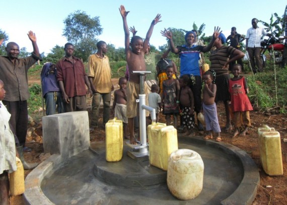 The-joy-of-clean-water-in-Magungu-village-570x407.jpg