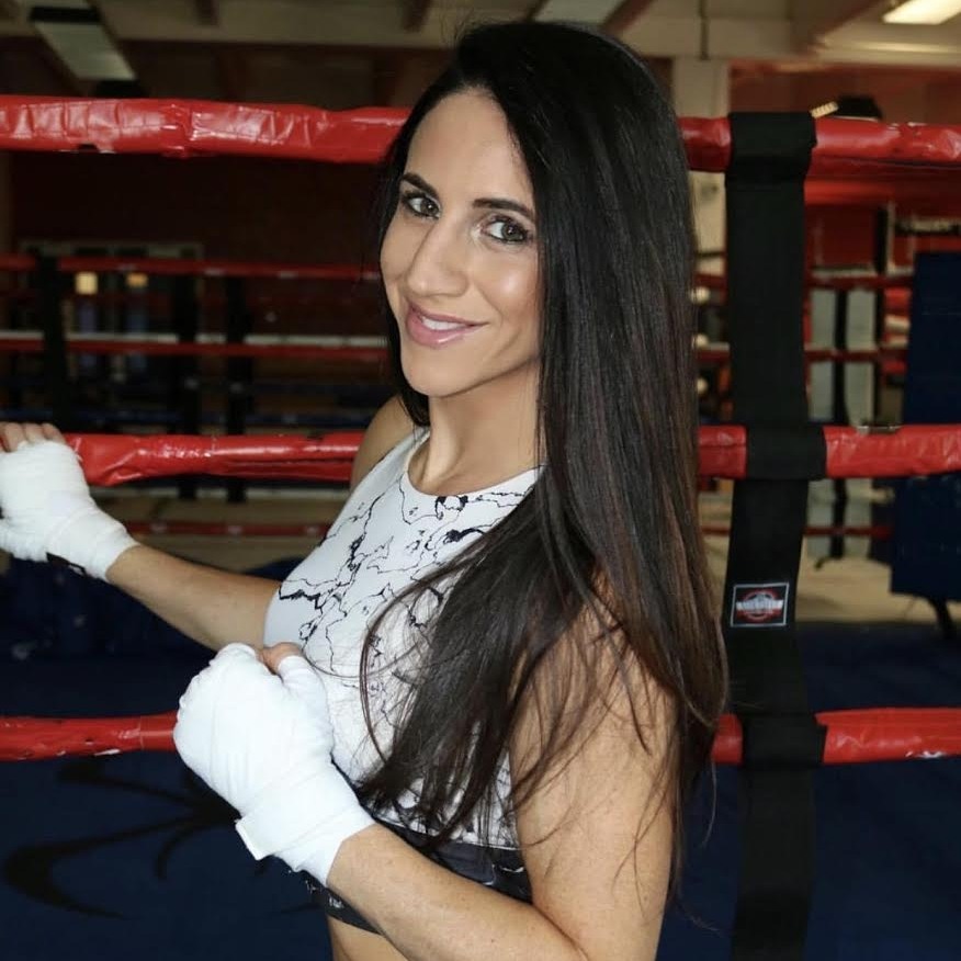 Christina Cruz   US Olympic Boxer