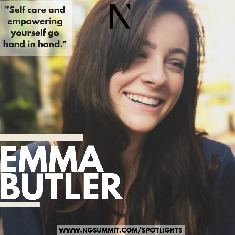 78a88e523d0 Spotlight on Emma Butler — Next Gen Summit