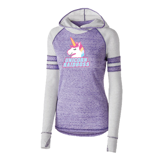 UnicornRaidBoss Hooded Shirt    $47.95