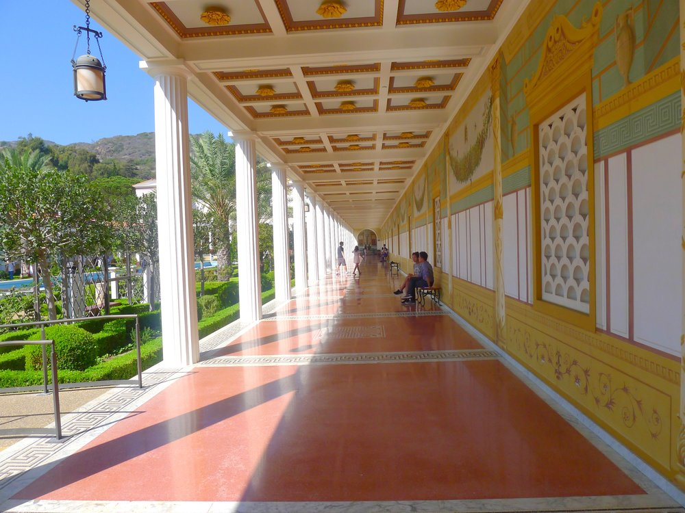gettyvillahallways