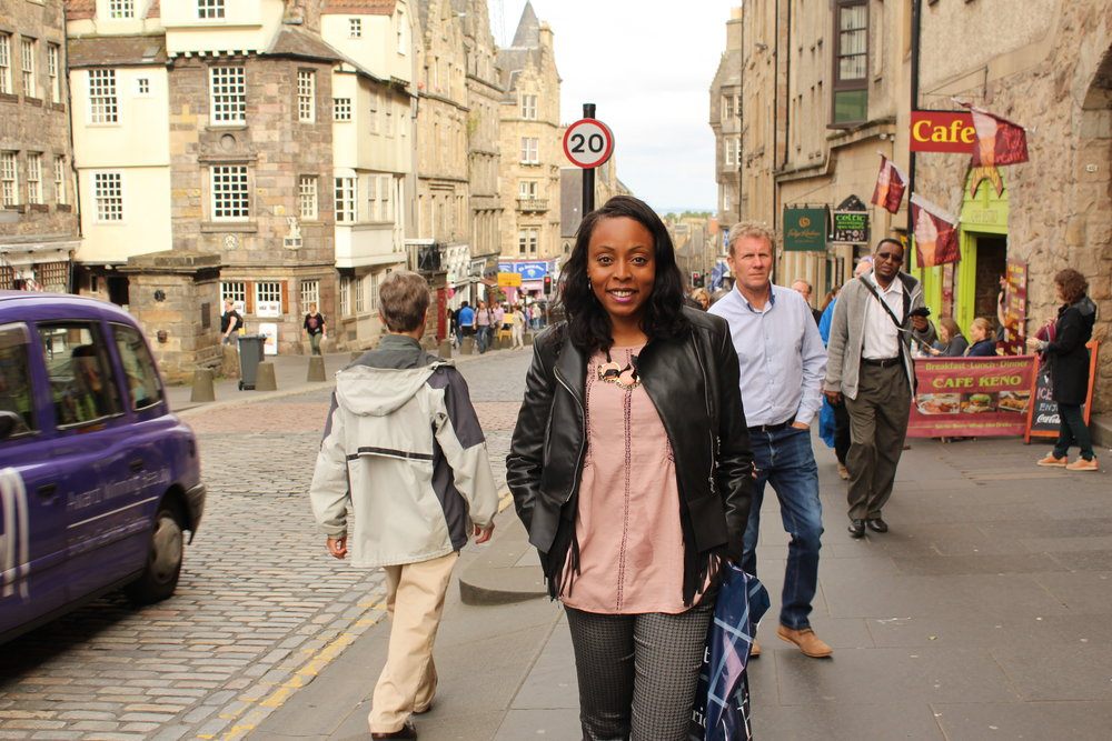 Exploring the Royal Mile