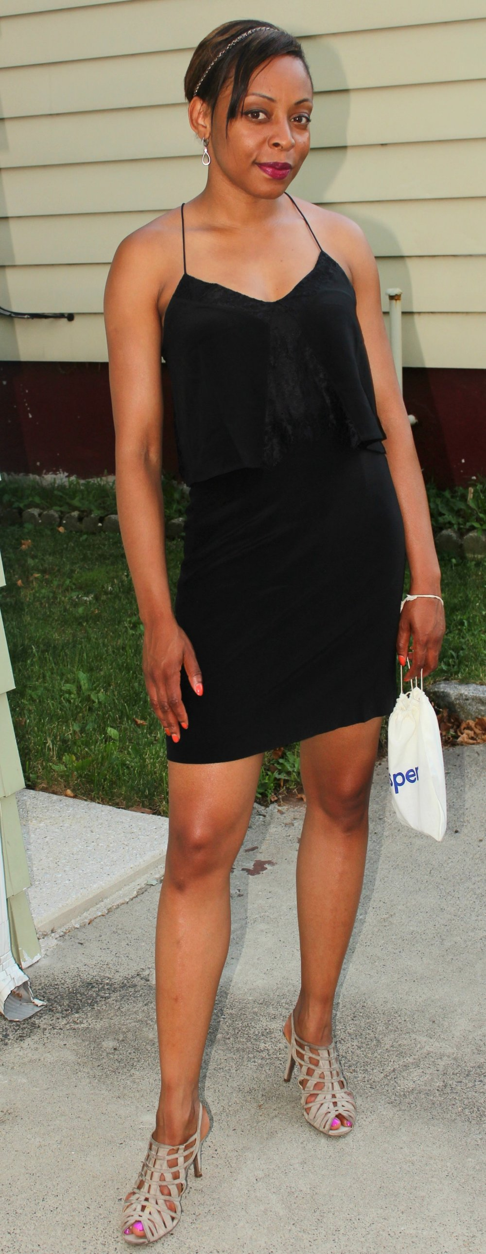 Below I'm sharing a few little black dresses that I believe are both chic and stylish for summer. Click on the images below to purchase. Enjoy!!!