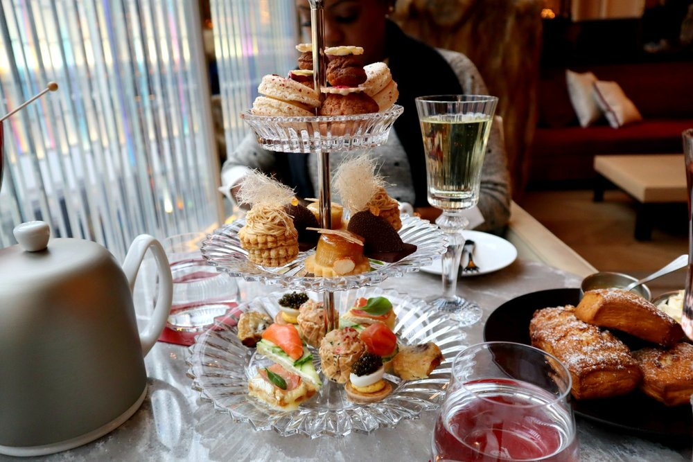 afternoon tea baccarat hotel NYCjpg