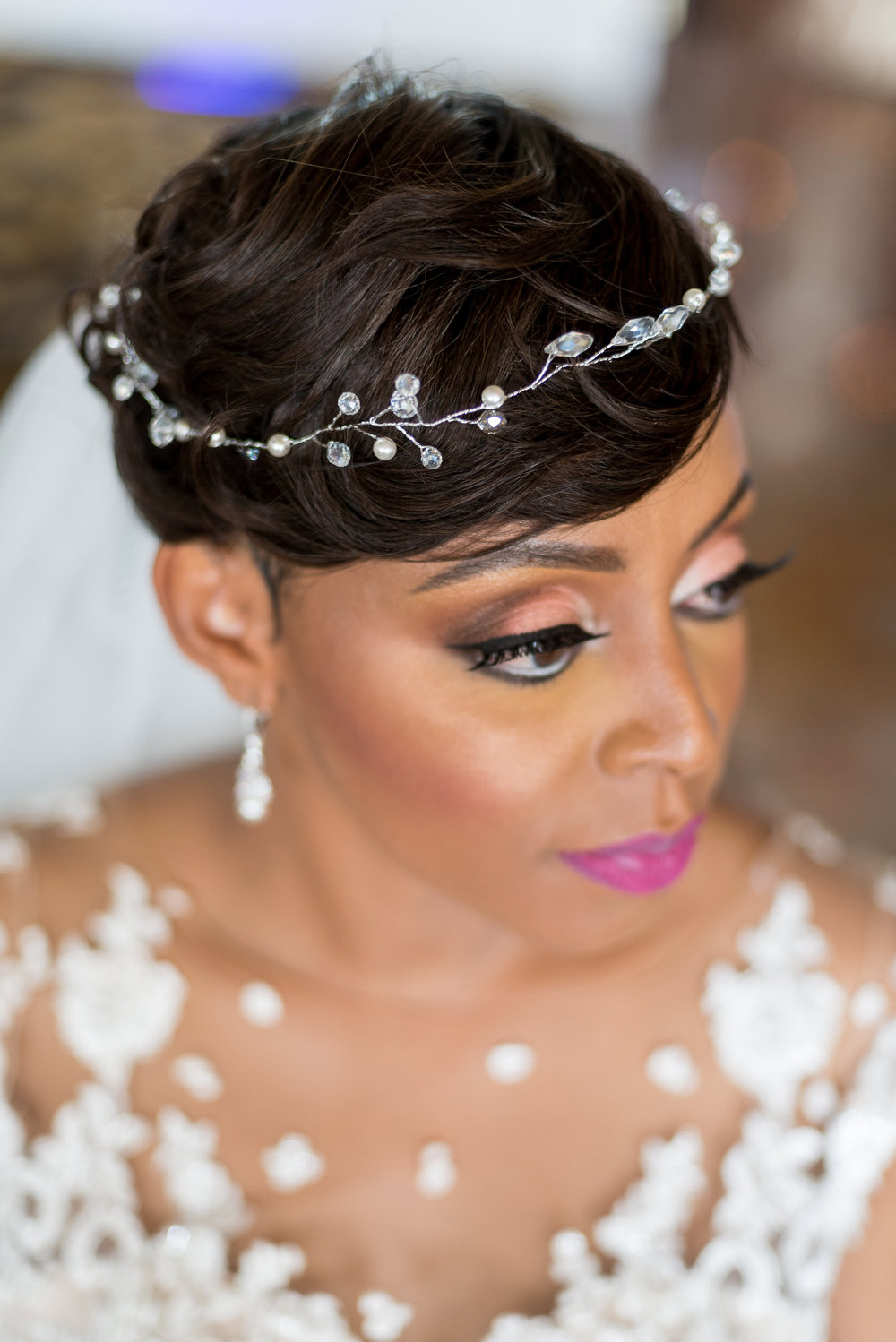 wedding day hair and makeup for black women.jpg