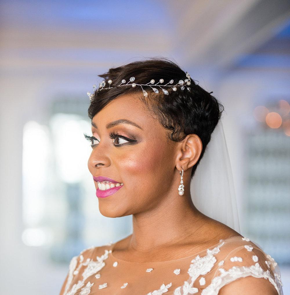 wedding day hair and makeup black women.jpg