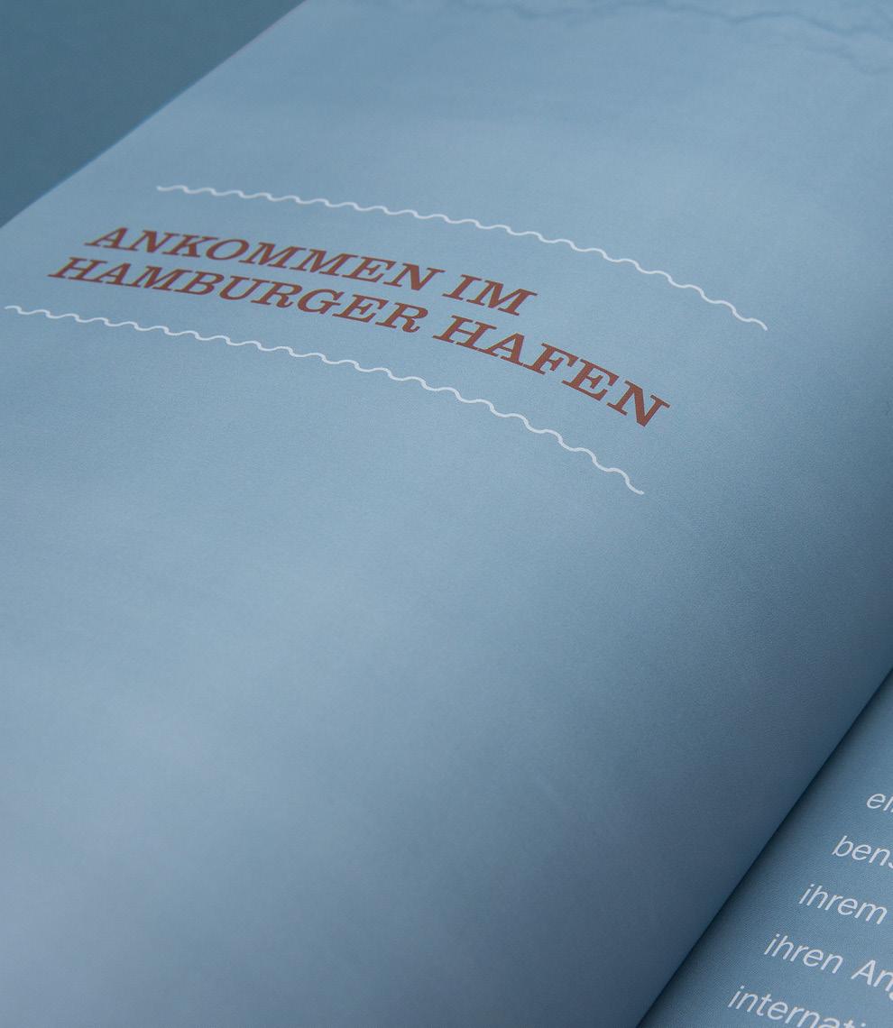 typografische Gestaltung im Buch, das die sons of ipanema für Maison van den Boer konzipiert und gestaltet haben