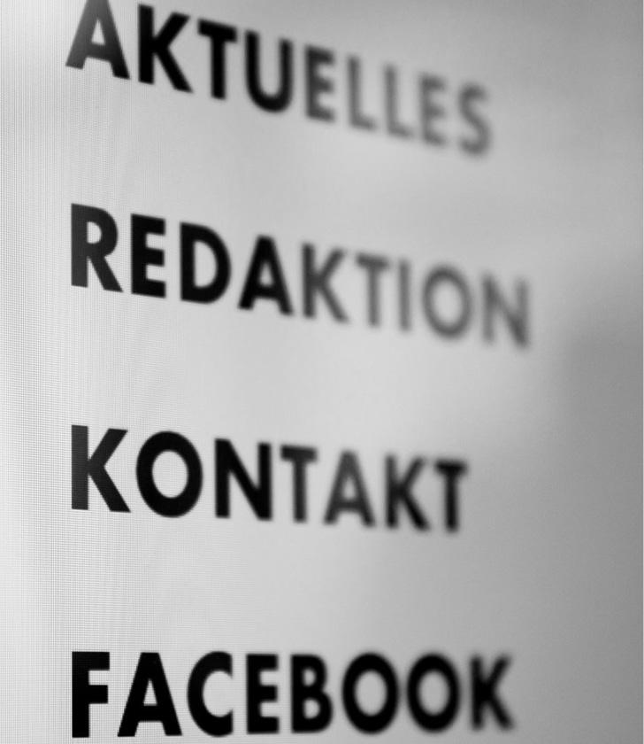 Typografie im Online-Magazin Stellwerk von der Agentur für Kommunikationsdesign sons of ipanema in Köln.