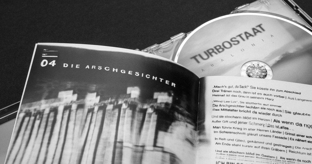 "Die sons of ipanema haben das neue Turbstaat Album ""Abalonia"" gestaltet"