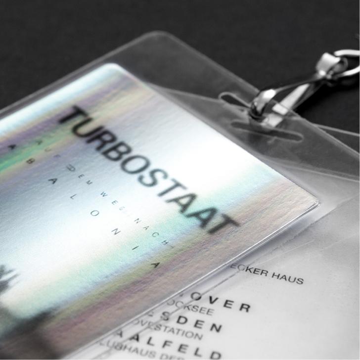 Auch die Tourpässe für die Turbostaat Tour 2016haben die sons of ipanema gestaltet