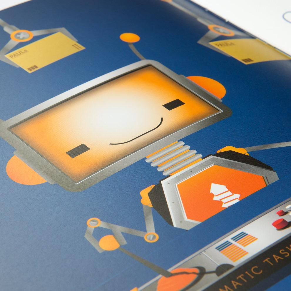 Paul und die Welt von Portlight Illustration und Broschürevon den sons of ipanema Designagentur aus Köln