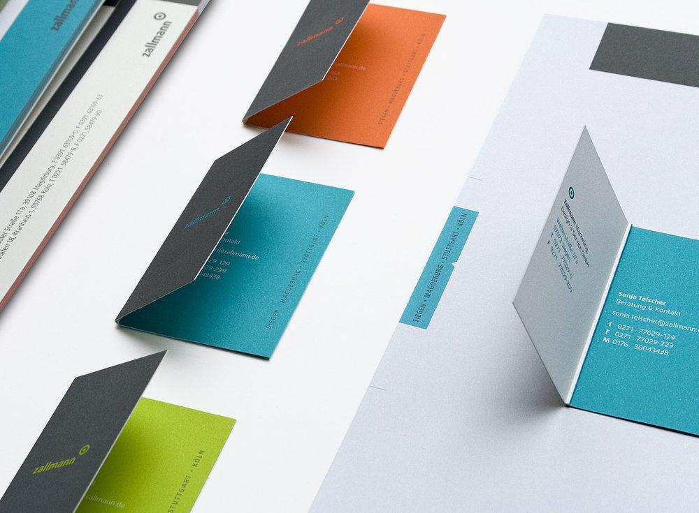 Die sons of ipanema aus Köln haben das neue Corporate Design für die Werbeagentur Zallmann konzipiert und umgesetzt.