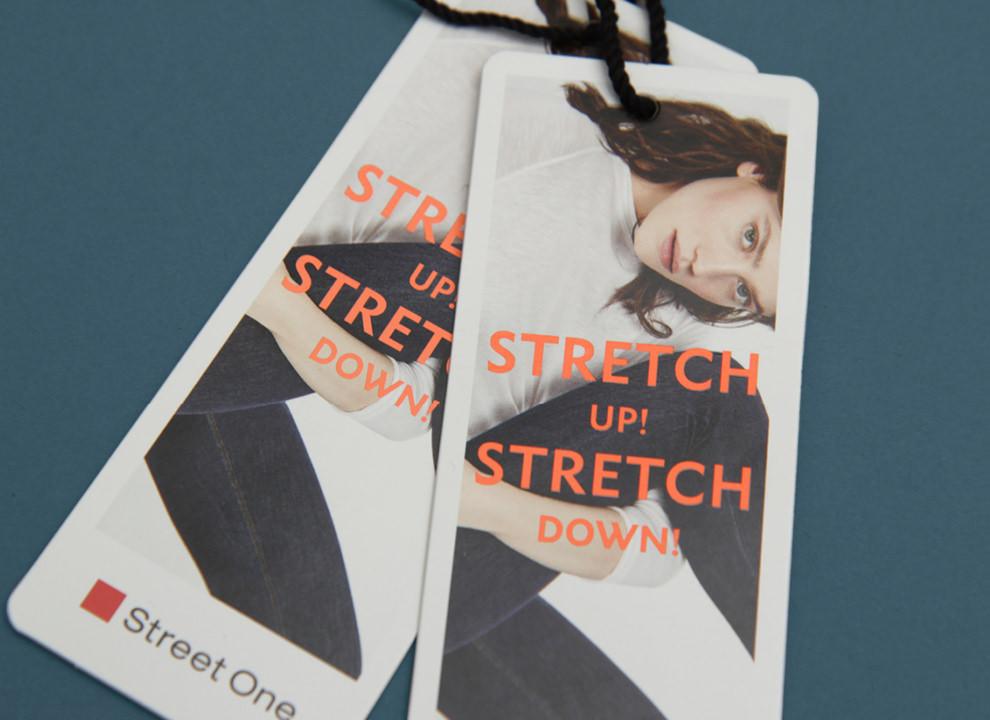 Hang Tag Design für Street One, von den sons of ipanema, einer Werbeagentur aus Köln