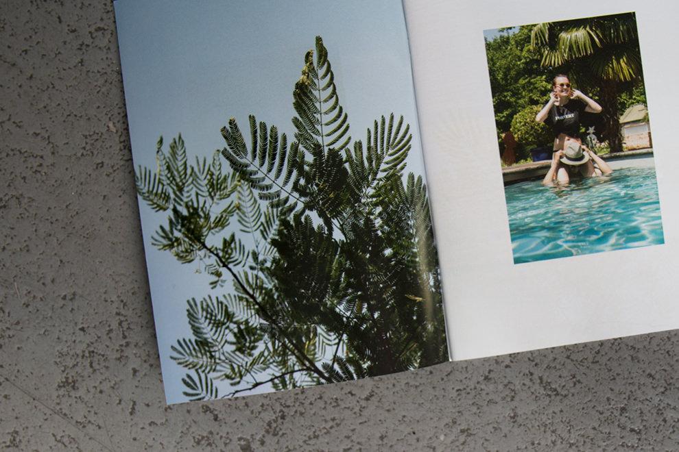 Doppelseitengestaltung im neuen forvert Magazin Summer 2018 / Artwork: sons of ipanema, Cologne