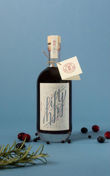 Motiv 1 der Fifty Fifty Sloe Gin Special Edition | sons of ipanema, Designagentur aus Köln