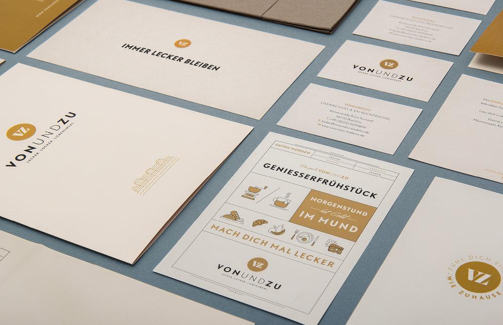 Werbemaßnahmen für vonundzu – Gestaltung: sons of ipanema (Designbüro Köln)