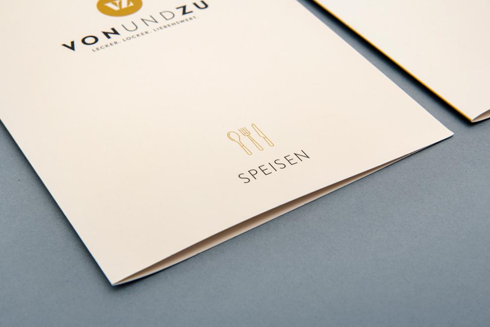 Speisekarte von den sons of ipanema, einem Design Studio aus Köln für vonundzu aus Bad Ems