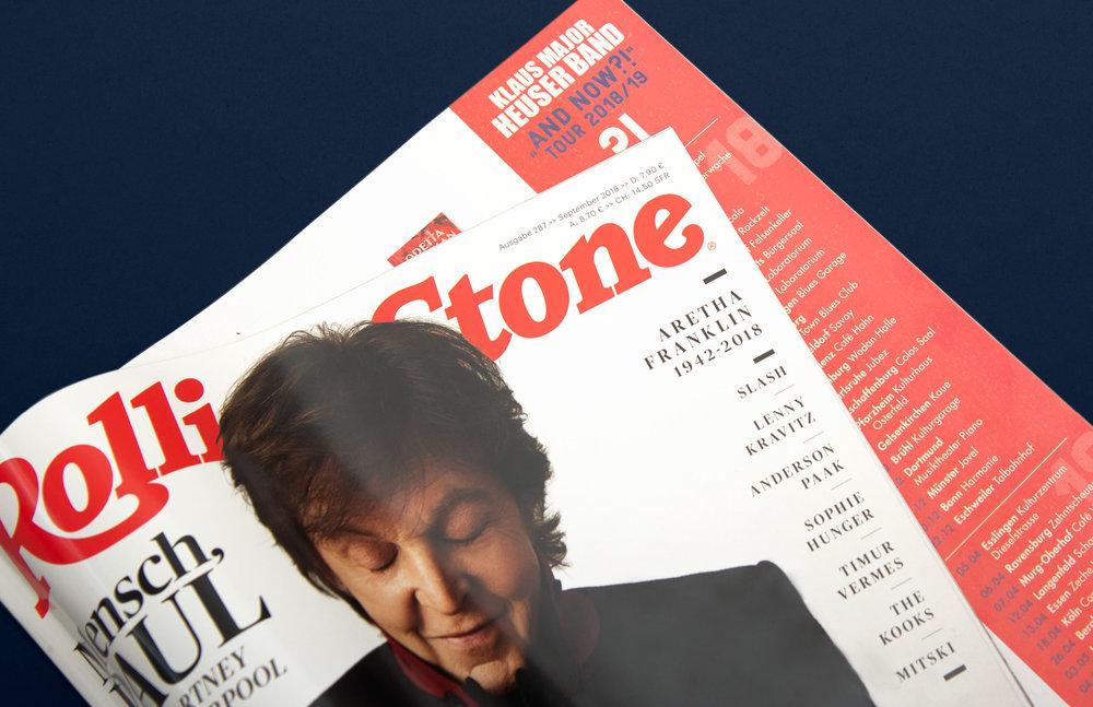 Anzeige im Rolling Stone