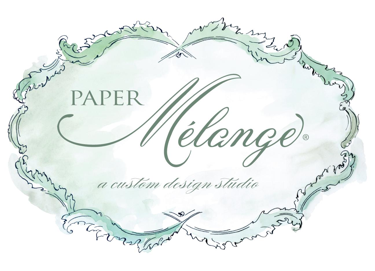 Wedding Invitations — Paper Melange