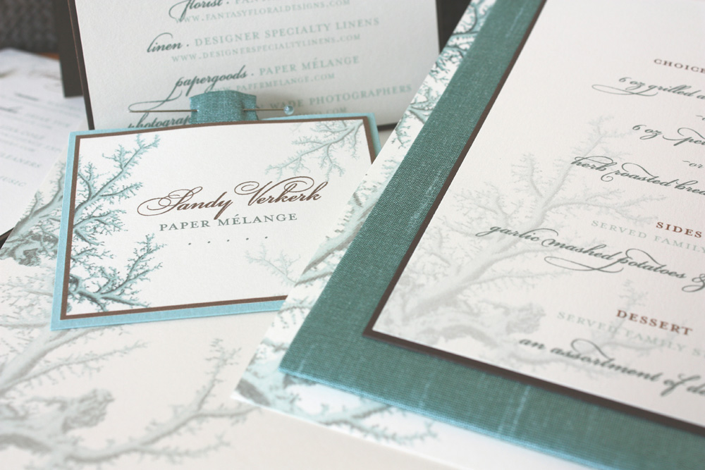 association of bridal consultants luncheon invitations by paper