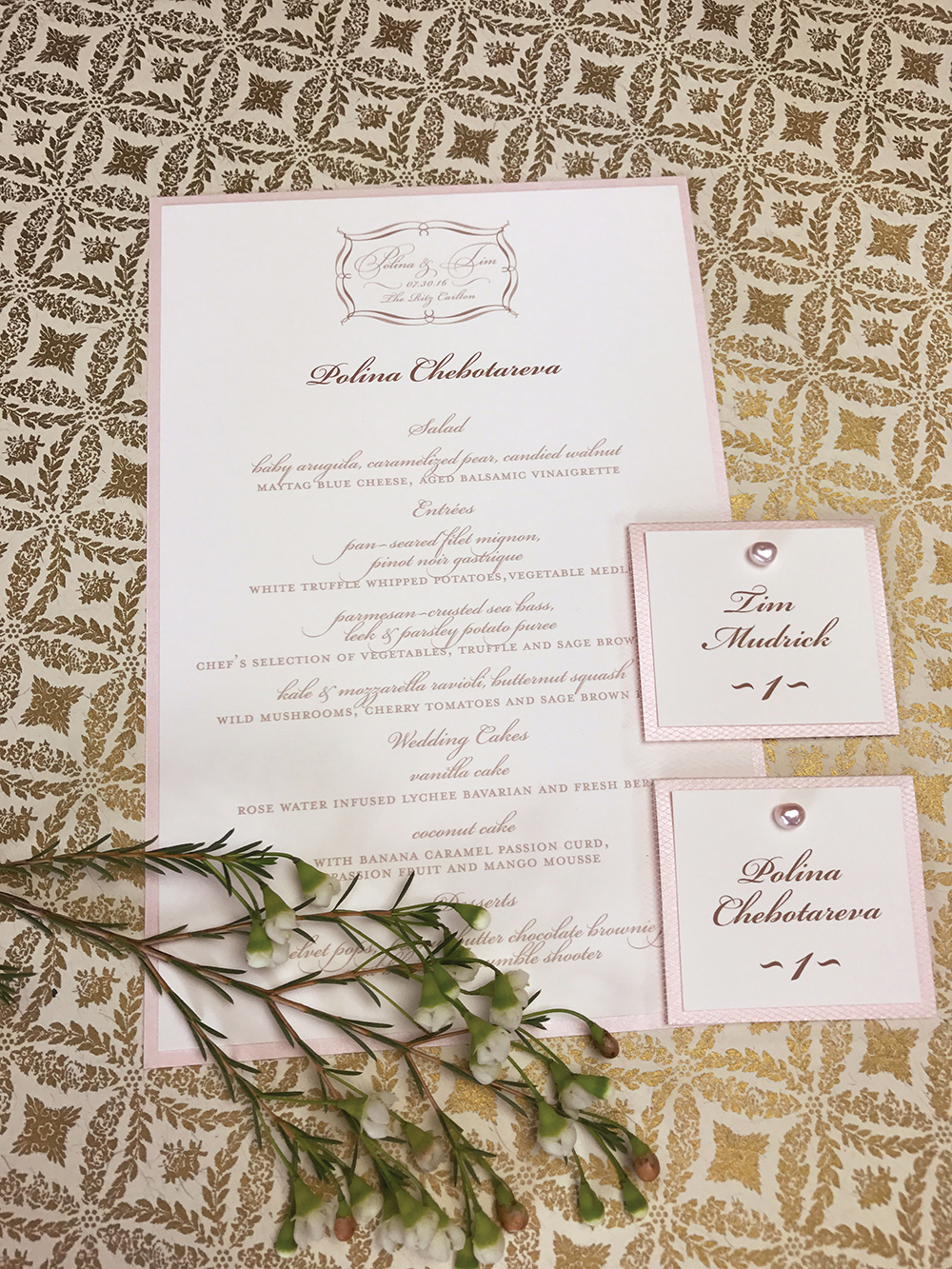 Wedding Invitations — Paper Melange