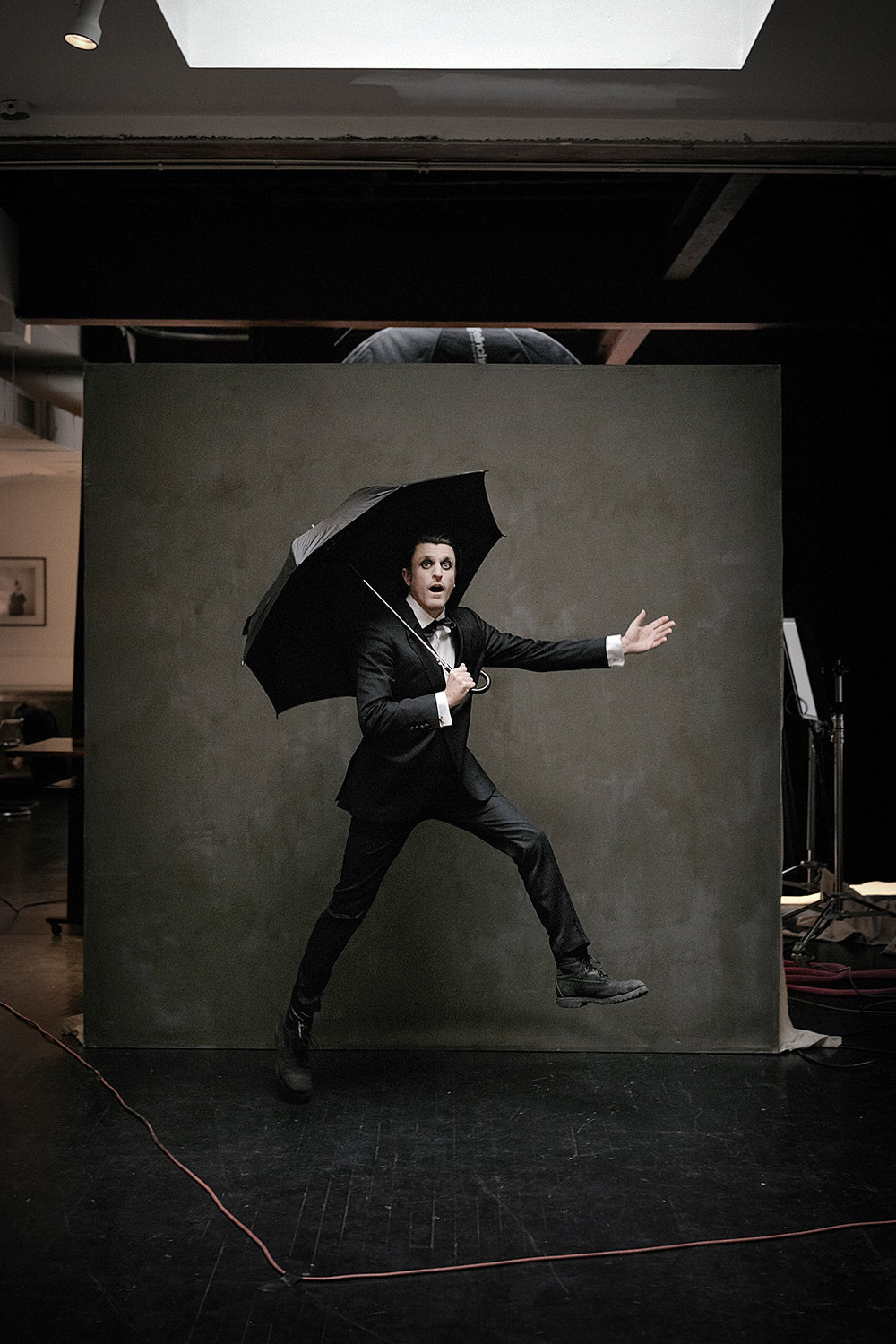We are very proud to contribute the Tuxedo outfit for this amazing shot....