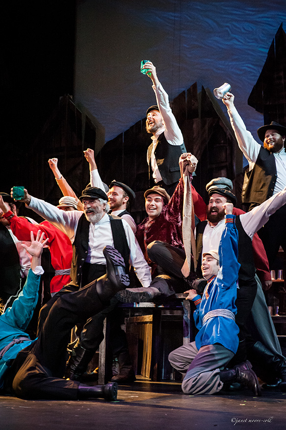 Fiddler on the Roof (2014). Photo by Janet Moore-Coll.