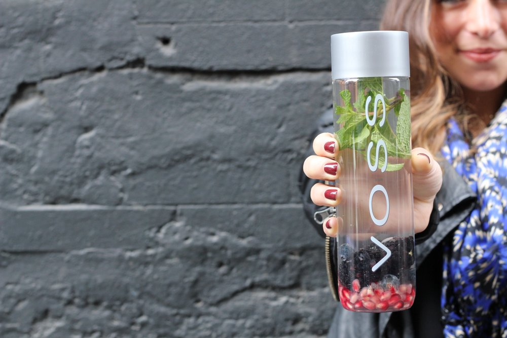 VOSS WATER - Brand Activation : Flavor your VOSS Custom Craft Water Experience, featuring new Sparkling water flavors.