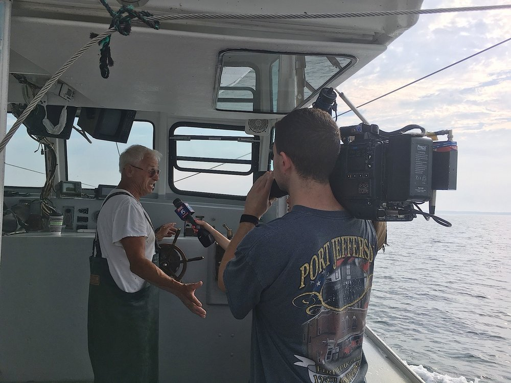 Captain Phil Karlin interviewed by Fox 5's Jodi Goldberg