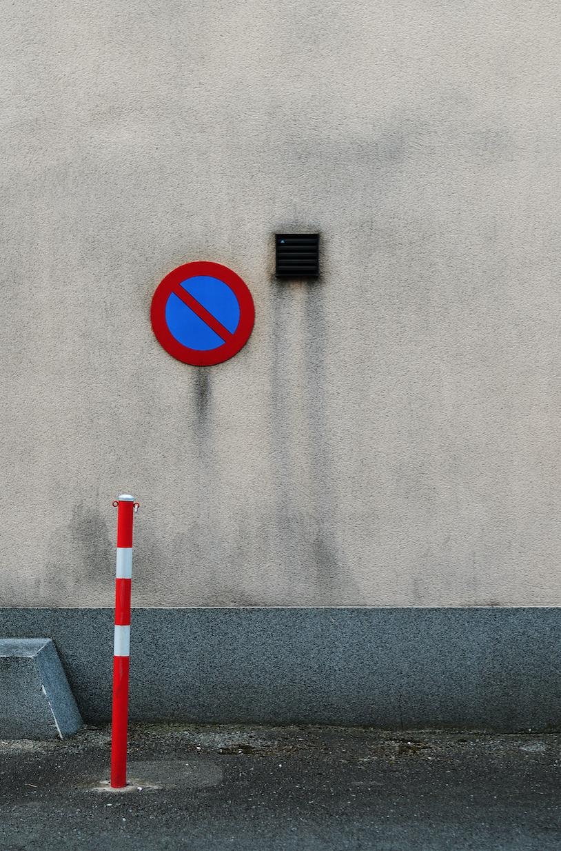 """Untitled - #12"" - Foto geprint op aluminium -55 x 80 cm"