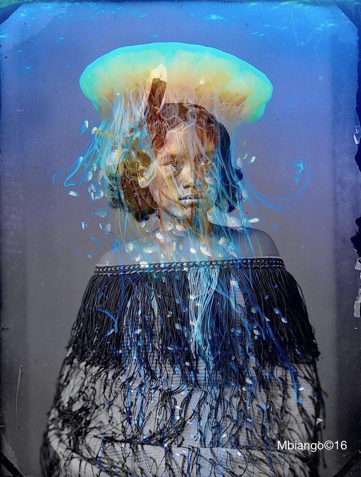 """""""What is the soul...?"""" -2016 -Digital print on enhanced matte velvet paper on aluminum - Ed. 1/5 - 92 x 120 cm."""